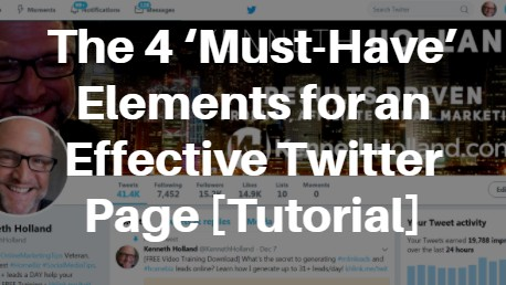 4 Musts Twitter - Kenneth Holland