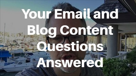 email and blog content