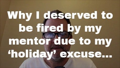 holiday excuse