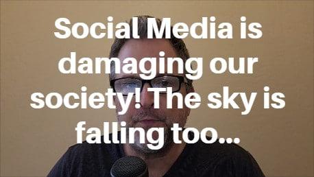 social media damaging society