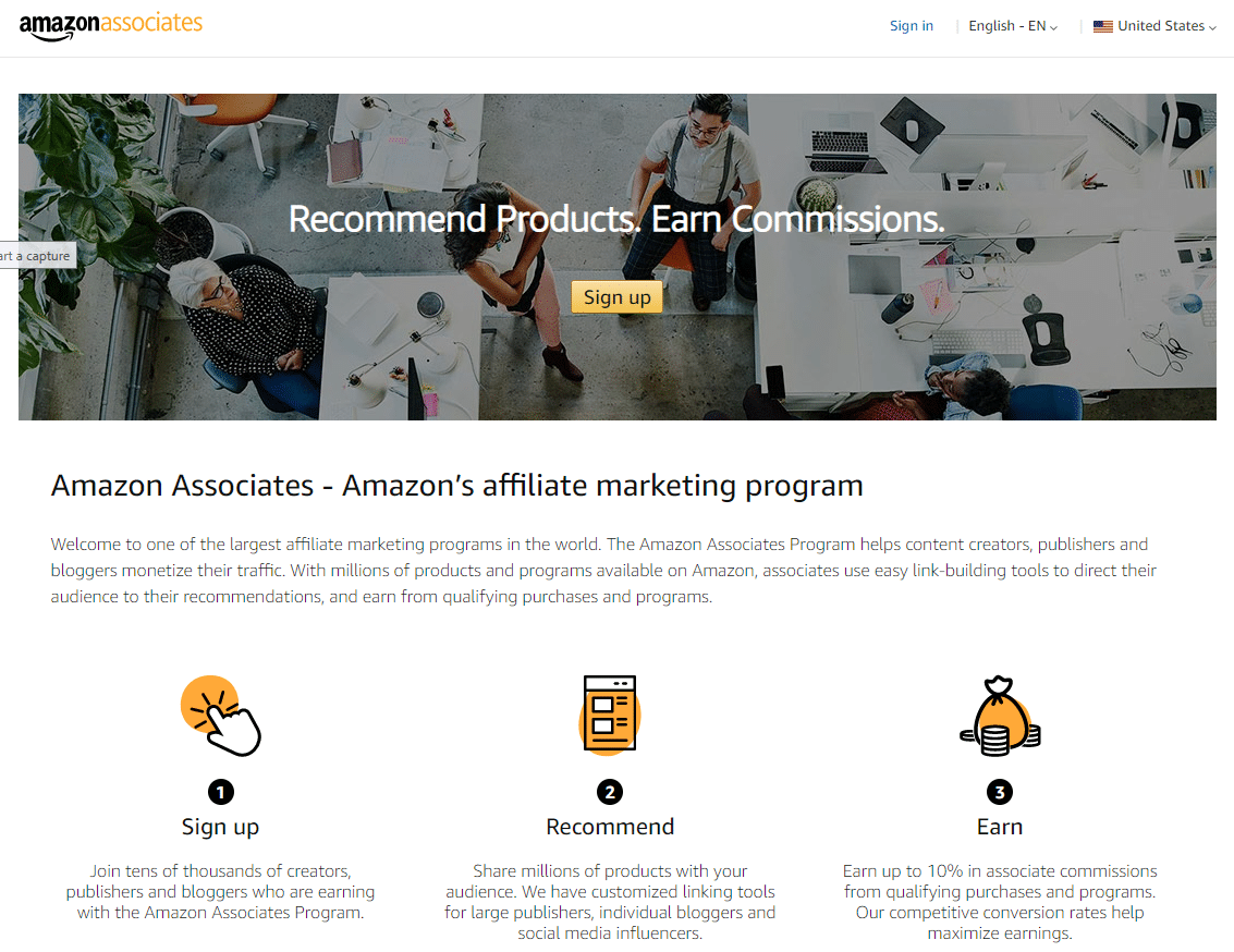 is Affiliate Marketing a Scam - Amazon Affiliate Program